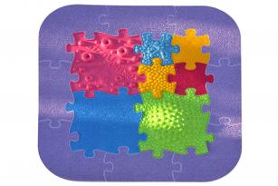 Orthopuzzle Baby-Puzzle-Set - Sensorik Matten für Babys und Kleinkinder