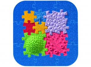 Ortho-Puzzle Strand-Puzzle - Set - Sensorik Strukturmatten für Kinder