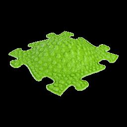 Orthopuzzle - Sensorik Matte Küste mit weicher Oberfläche in Lime