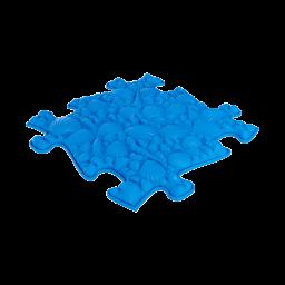 Sensorik Matte Muscheln mit weicher Oberfläche in Blau