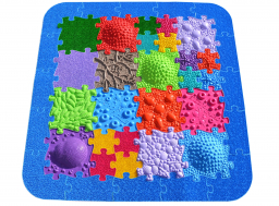 Orthopuzzle Barefoot Park - sensory floor mat set for children and adults